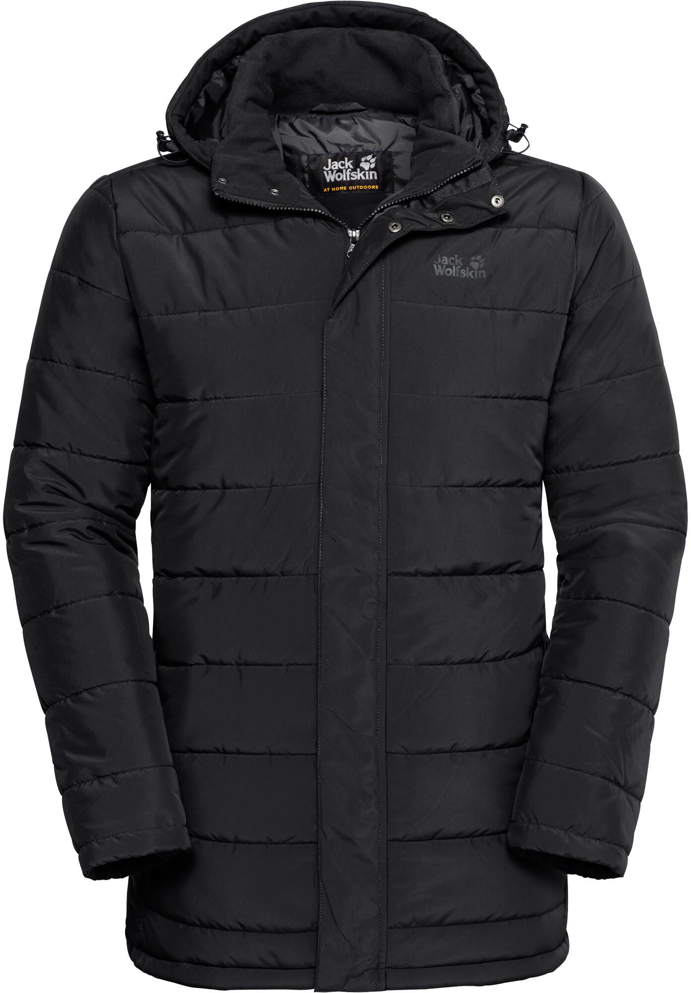 Jack Wolfskin Svalbard Coat Men black at Addnature.co.uk